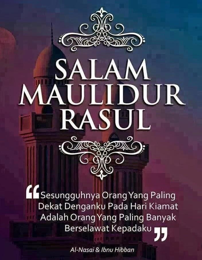 Salam Maulidur Rasul 1436H / 2015M