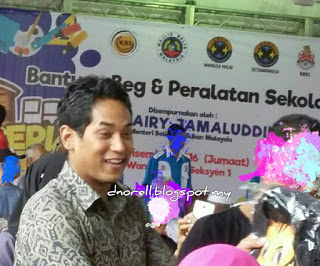 BlogDuraNorell - The Zizis and Me | Sumbangan Back to School 2016 oleh UMNO WangsaMaju dan Setiawangsa | http://dnorell.blogspot.my | dura.norell@gmail.com | Kelab Blogger Ben Ashaari KBBA9 | Blogger Malaysia | WAHM