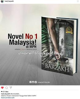 Novel 'Semusim Di Barzakh'