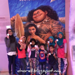3 serangkai enjoy tengok movie 'Moana'