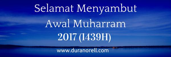 Selamat Menyambut Awal Muharram 2017 (1439H)