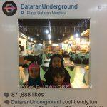 Pertama kali jejakkan kaki di Dataran Underground di Plaza Dataran Merdeka Kuala Lumpur
