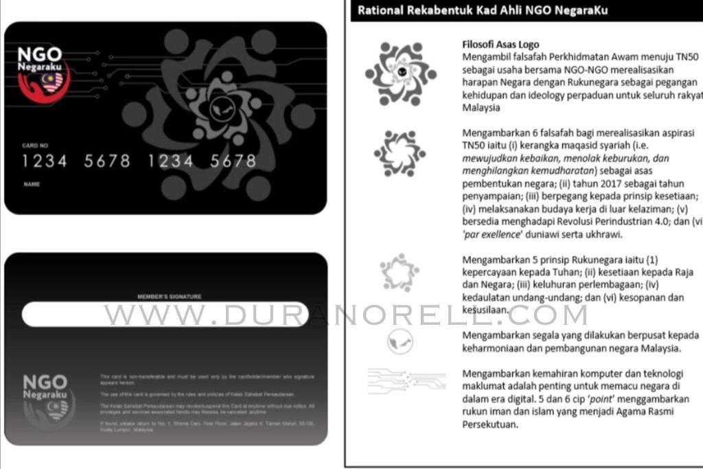 Kad Digital NGO Negaraku dan Mobile App NGO Negaraku