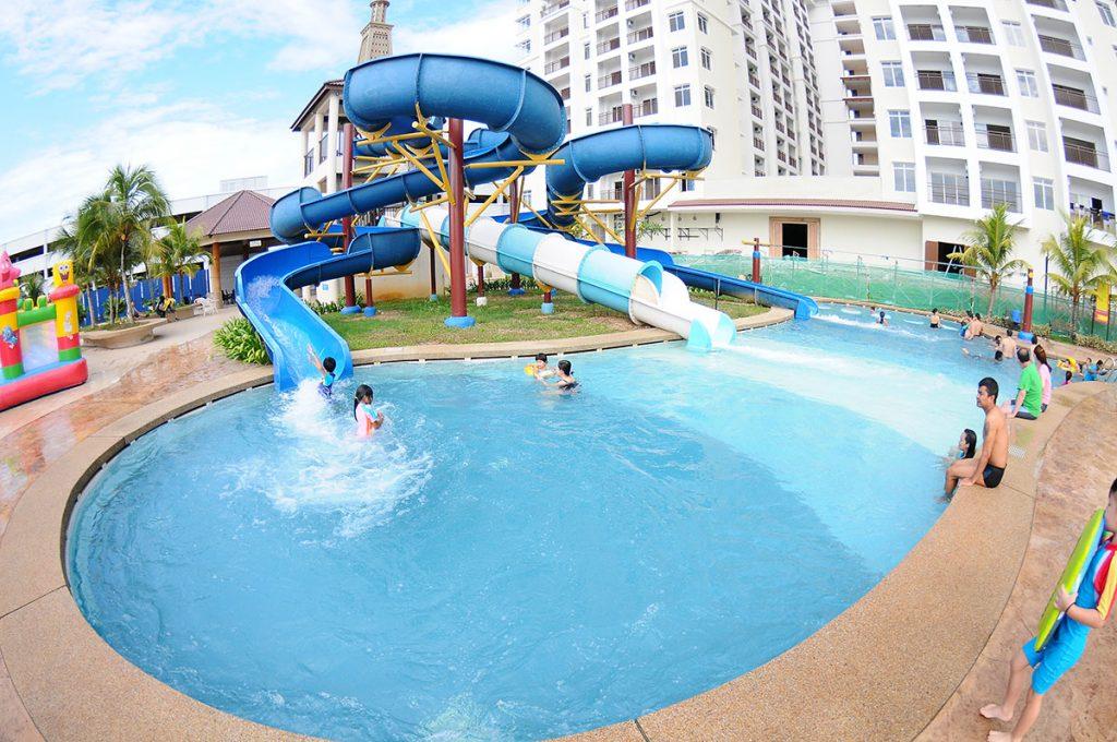 Harga hotel Bayou Lagoon Park Resort Melaka yang murah untuk seisi keluarga