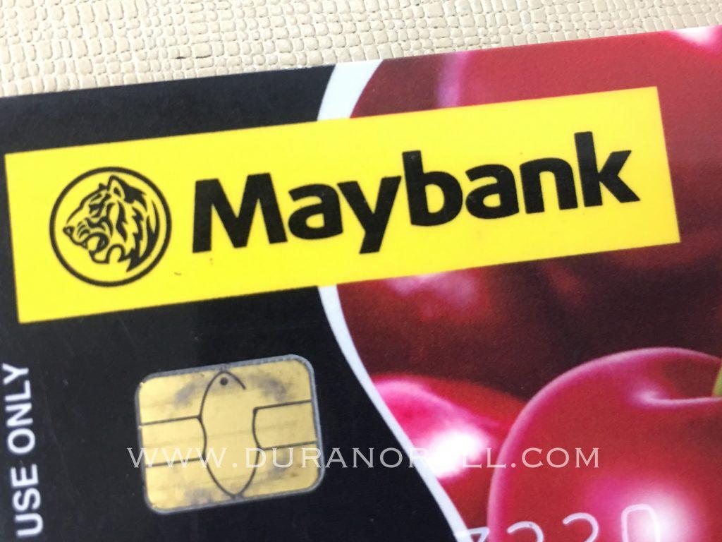 Maybank2U, Maybank Debit Kad
