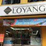 Beli peralatan dan bahan buat kek dan kuih raya di LOYANG Setiawangsa