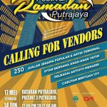 Jualan Barangan Raya Festival Ramadan Putrajaya 2018 di Presint 3