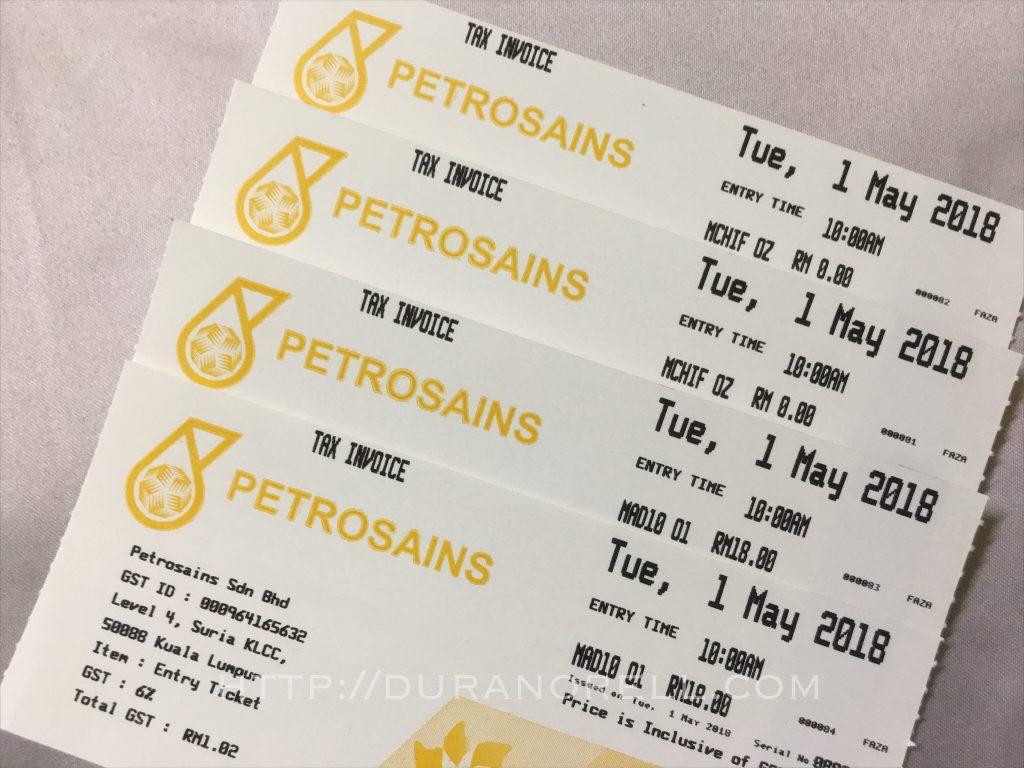 Berbaloi ke harga tiket dengan apa yang ada di Petrosains KLCC?
