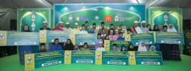 McDonald's Malaysia bersama MAIS, LZS dan YIDE meraikan anak-anak yatim dan asnaf sempena Ramadan
